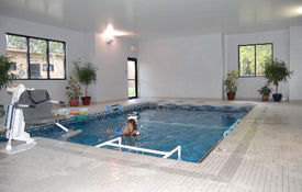 Sharon Regional's new Therapeutic Pool